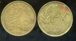 ETHIOPIE 10 Cents 1969 ANM - Ethiopie