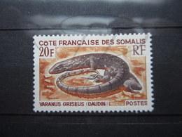 VEND BEAU TIMBRE DE LA COTE FRANCAISE DES SOMALIS N° 328 , X !!! - Côte Française Des Somalis (1894-1967)