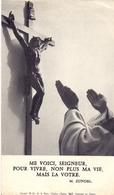 Devotie - Devotion - Prise D'Habit Soeur Jeanne De Nazareth - 1963 - Ed. Havet Boulogne - Faire-part