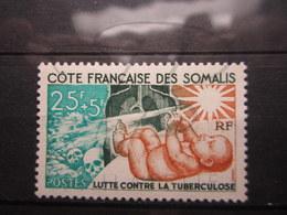 VEND BEAU TIMBRE DE LA COTE FRANCAISE DES SOMALIS N° 324 , XX !!! - Unused Stamps
