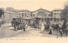 Paris - La Gare De L'Est - Tramways - Omnibus - Cecodi N'27 - France