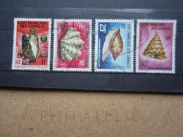 VEND BEAUX TIMBRES DE LA COTE FRANCAISE DES SOMALIS N° 311 -  314 , XX !!! - Unused Stamps
