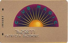 Reno Hilton Casino - Reno NV - 4th Issue Slot Card - Reno Hilton In Script 1 Line On Reverse - Casino Cards