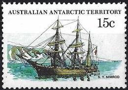 "Australian Antarctic Territory 1981 - Ship "" Nimrod ( Mi 42 - YT 49 ) MNH** - Territoire Antarctique Australien (AAT)"