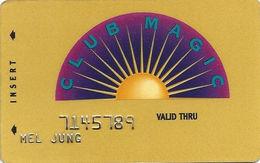 Reno Hilton Casino - Reno NV - 5th Issue Slot Card - Reno Hilton In Script 2 Lines On Reverse - Casino Cards