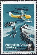 Australian Antarctic Territory 1973 - Airplane Mawson's DH Gipsy Moth ( Mi 24 - YT 24) MNH** - Territoire Antarctique Australien (AAT)