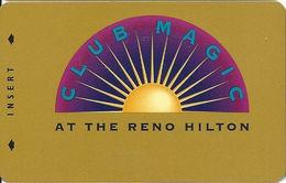 Reno Hilton Casino - Reno NV - 9th Issue BLANK Slot Card With Cpi 2006354 - Casino Cards