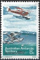 Australian Antarctic Territory 1973 - Seaplane Rymill's DH Fox Moth ( Mi 26 - YT 26 ) MNH** - Unused Stamps