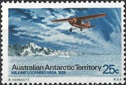 Australian Antarctic Territory 1973 - Plane Wilkins' Lockheed Vega ( Mi 30 - YT 30 ) MNH** - Neufs