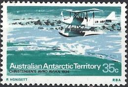 Australian Antarctic Territory 1973 - Seaplane Christensen's Avro Avian ( Mi 32 - YT 32 ) MNH** - Neufs