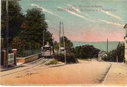 Bonsecours Le Tramway Et La Vieille Cote - Bonsecours