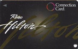 Reno Hilton Casino - Reno NV - BLANK Slot Card - Casino Cards