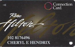 Reno Hilton Casino - Reno NV - Slot Card - Casino Cards