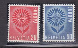 N° 735 à 736  Série Europa 1964 : Timbres Neuf Impeccable Sans Charnière - Suisse