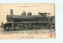 Cie Du NORD - Machine  Compound 3177 - Les Locomotives  , Ed. Fleury - 2 Scans - Equipment