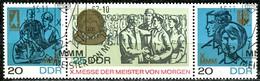 DDR - Mi 1320 / 1322 = WZd 180 - OO Gestempelt (B) - Messe Der Meister Von Morgen 67 - Gebraucht