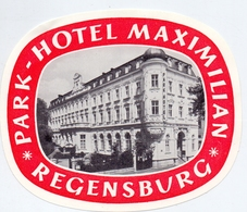 Etiket Etiquette - Park Hotel Maximilian - Regensburg - Hotel Labels