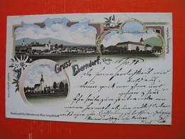 Lithography.Gruss Aus Eberndorf - Autres
