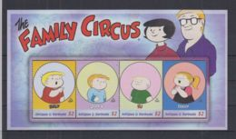 P183. Antigua & Barbuda - MNH - Cartoons - The Family Circus - Disney