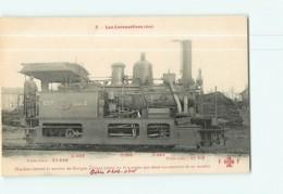 Cie EST - Machine Service De Gargan à Livry De Série 6 - Les Locomotives  , Ed. Fleury - 2 Scans - Matériel