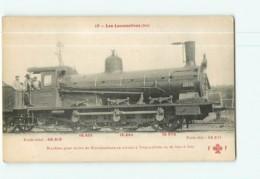 Cie EST - Machine 3001 à 3015 Pour Trains De Marchandises - Les Locomotives  , Ed. Fleury - 2 Scans - Matériel