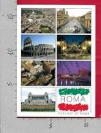 CARTOLINA VG ITALIA - ROMA - Fascino - Vedutine Multivue - 12 X 17 - ANN. 1997 - Roma