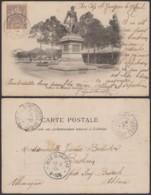 """Colonies Françaises - Indochine - C.P. Yvert N°19 Oblitération """" Cap St Jacques """" Vers Alsace   (6G18538) DC0848 - Indochine (1889-1945)"""