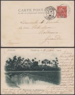 "Colonies Françaises - Indochine - C.P.  Yvert N°18  Oblitération "" Hai Phong Tonkin "" Vers France  (6G18538) DC0859 - Covers & Documents"