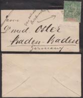 Colonies Françaises - Indochine -Lettre De Deuil 1898 - Yvert N°6 Vers Allemagne (6G18538) DC0863 - Indocina (1889-1945)