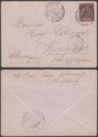 Colonies Françaises - Indochine - Lettre - Yvert N°10 De Hai Phong Tonkin  15/DEC/1900 Vers Allemagne (6G18538) DC0868 - Indochine (1889-1945)