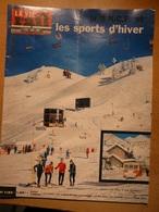 Vie Du Rail 1132 1968 Sports Hiver Artouste Chamonix Le Corbier Bourg St Maurice Flaine Alpe Huez Les Prodains - Trains
