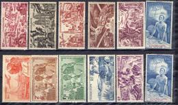 FRANCE Et COLONIES !  Timbres Anciens AÉRIENS NEUFS* De GUADELOUPE Depuis 1947 - France (ex-colonies & Protectorats)
