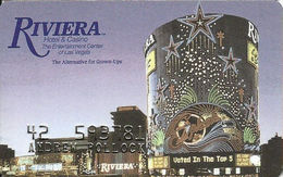 Riviera Casino - Las Vegas NV -  Slot Card - Last Line Text Starts With 'without' - Casino Cards