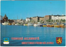 Terveisiä Helsingistä - Greetings-from-Helsinki - The North Harbour - (Finland/Suomi) - Finland