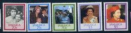 Jamaïque ** N° 640 à 644 - 60 Ans De La Reine Elizabeth II - Jamaica (1962-...)