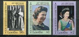 Lesotho ** N° 685 à 685 - 60 Ans De La Reine Elizabeth II - Lesotho (1966-...)