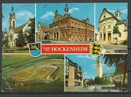 Deutschland Hockenheim 1991 Sent With Stamp - Hockenheim