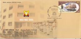 India 2011  Bosco Public School  Education  New Delhi  Special Cover  #15783  D  Inde Indien - India