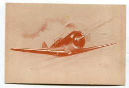 CPA  Aviation : Curtiss P 36 Illustrateur Guy Legay  A   VOIR   !!!! - 1946-....: Moderne