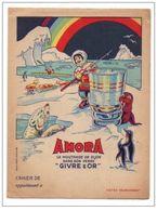 """Protège-cahiers Amora La Moutarde De Dijon """"Givre & Or"""" Avec Au Dos Table De Multiplication Et Autres - Protège-cahiers"""