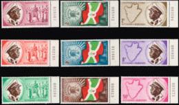 Burundi 0026/34** Indépendance Bords De Feuille Numérotés - MNH - Burundi