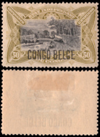 Congo 0045* 50c Olive  H - Congo Belge