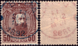 Congo 009(o) Léopold II - Belgisch-Kongo