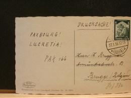 80/830 CP  ALLEMAGNE  POUR LA BELG  1935 - Deutschland