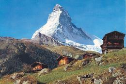 SUISSE,SCHWEIZ,SVIZZERA,S WITZERLAND,HELVETIA,SWISS , MATTERHORN,chalet,refuge, Montagne - Suisse