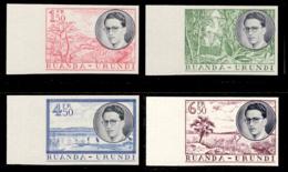 Ruanda 0196/99** ND Voyage Royal Non Dentelé Bord De Feuille -MNH- - 1948-61: Neufs
