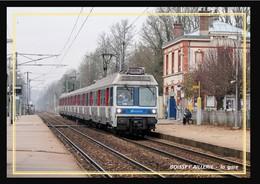 95  BOISSY  L'AILLERIE   ... La  Gare Interieure - Boissy-l'Aillerie