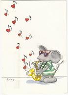 Mouse Playing The Saxophone  - (Finland/Suomi) - 1990 - Muziek En Musicus