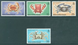 GILBERT ELLICE -  MNH/**- 1975 - CRABS - Yv 232-235 -  Lot 18282 - Îles Gilbert Et Ellice (...-1979)