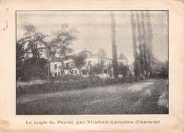 VILLEBOIS-LAVALETTE - Le Logis Du Peyrat - Other Municipalities